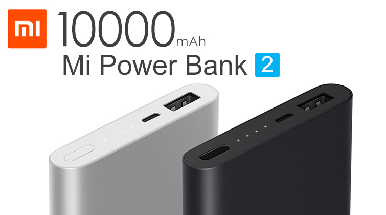 Xiaomi Mi Power Bank2 10 000mAh, fekete -