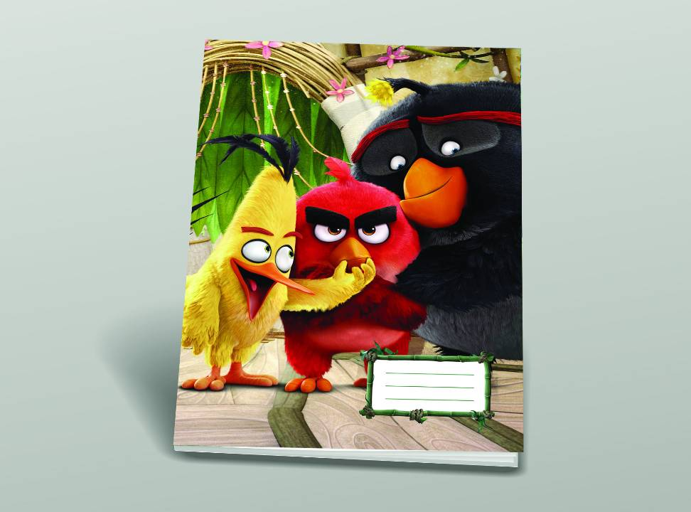 Füzet (80-32) A4 SIMA Angry Birds MOVIE  -