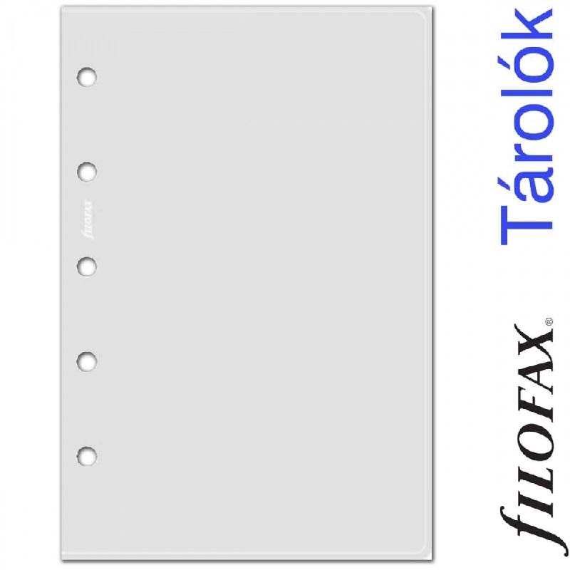 7106028cd076 Filofax Boríték Mini Átlátszó -