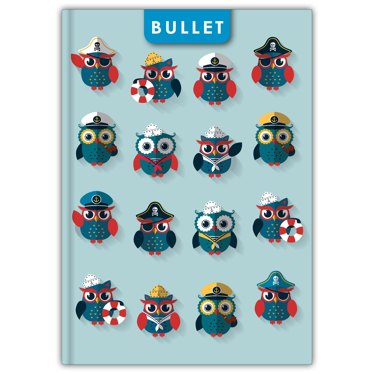Notes Colors A5 Bullet Happynest -