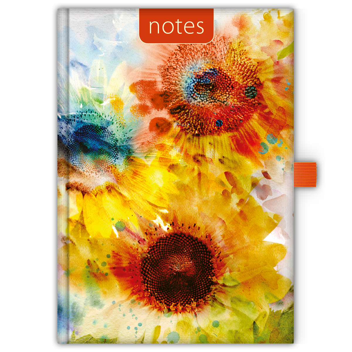 Dayliner notes Colors A5 vonalas Sunflower -