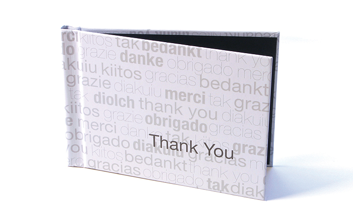 Unibind Mybook Thank You album -